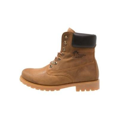 パナマ ジャック ブーツ&レインブーツ メンズ シューズ PANAMA  - Lace-up ankle boots - honey