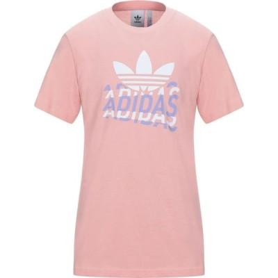 アディダス ADIDAS ORIGINALS メンズ Tシャツ トップス T-Shirt Pink