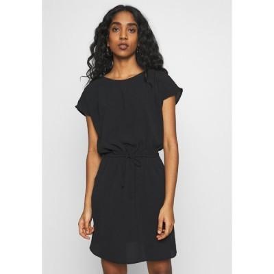 ヴェロモーダ ワンピース レディース トップス VMSASHA BALI SHORT DRESS - Day dress - black