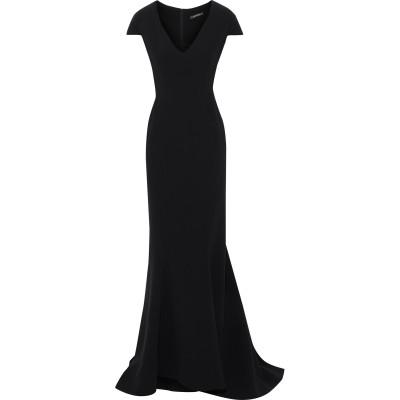 ZAC POSEN ロングワンピース&ドレス ダークブルー 4 アセテート 80% / ポリエステル 20% ロングワンピース&ドレス