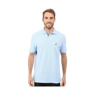 Nautica ノーチカ メンズ 男性用 ファッション ポロシャツ Solid Deck Polo - Noon Blue