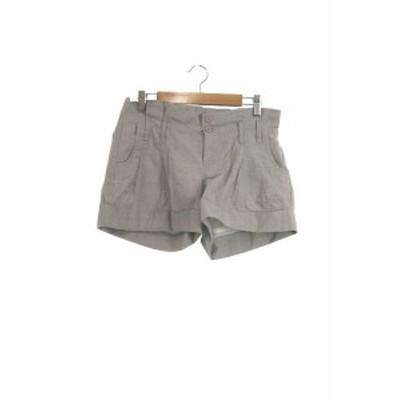 【中古】クランプリュス ミッシェルクラン KLEIN PLUS パンツ ショート 36 グレー /RT7 レディース