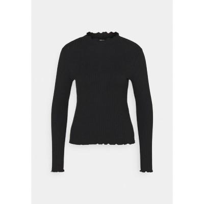 ジェイディーワイ カットソー レディース トップス JDYFRANSISKA - Long sleeved top - black