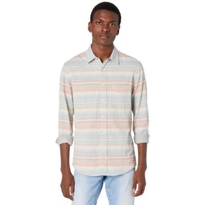 ファエティ シャツ トップス メンズ The Reversible Shirt Azure Sky Ombre