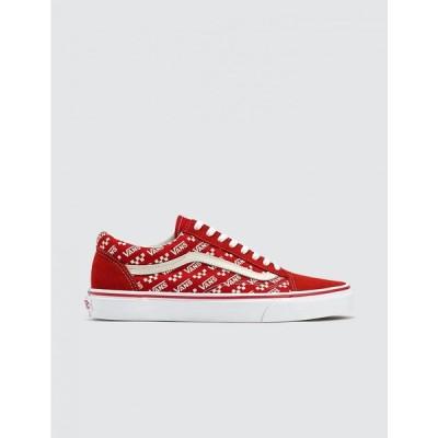 ヴァンズ Vans メンズ スニーカー シューズ・靴 Old Skool Racing Red/True White