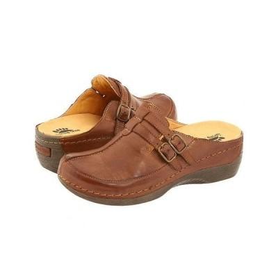 Spring Step スプリングステップ レディース 女性用 シューズ 靴 クロッグ ミュール Happy - Medium Brown
