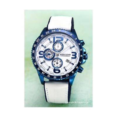 エンジェルクローバー 腕時計 メンズ ANGEL CLOVER 時計 Mondo MO44BNV-WH
