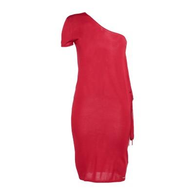 ディースクエアード DSQUARED2 ミニワンピース&ドレス レッド XS ウール 100% ミニワンピース&ドレス