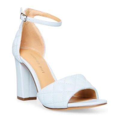 マッデンガール レディース サンダル シューズ Blend-Q Quilted Two-Piece Block-Heel Sandals