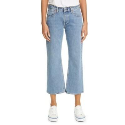 ラグアンドボーン レディース デニムパンツ ボトムス Rosa High Waisted Wide Leg Jeans MISHA