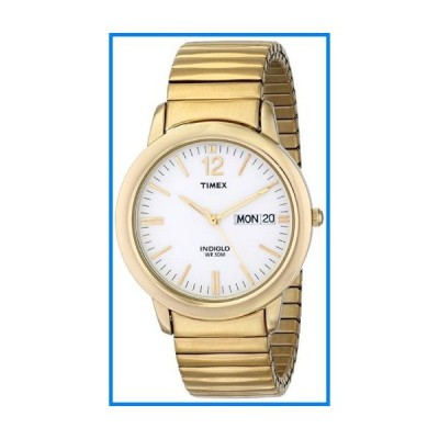 Timex Mens Elevated Classics Gold Tone Expansion Watch