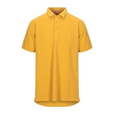 サンシックスティエイト SUN 68 ポロシャツ オークル S コットン 100% ポロシャツ
