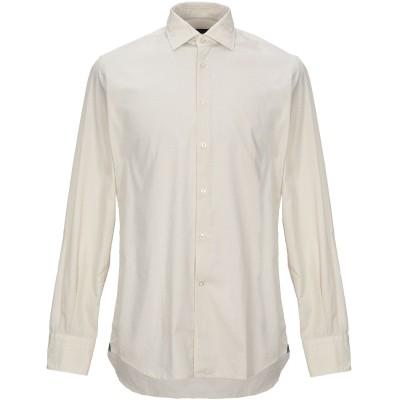 DEL SIENA シャツ ベージュ 40 コットン 100% シャツ