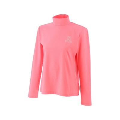 【ランバンスポール】 プライムフレックスハイネックシャツ レディース ピンク系 38 LANVIN SPORT