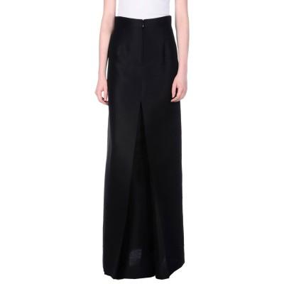 ディースクエアード DSQUARED2 ロングスカート ブラック 38 ウール 83% / シルク 17% ロングスカート