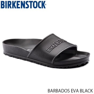 ビルケンシュトック BIRKENSTOCK メンズ レディース サンダル バルバドス EVA BARBADOS EVA UNISEX BLACK 軽量 庭 幅広 レギュラー GE1015398 国内正規品