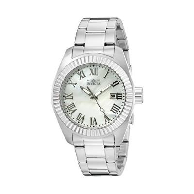 Invicta Women's 20315 Angel Silver-Tone Stainless Steel Watch【海外平行輸入品】
