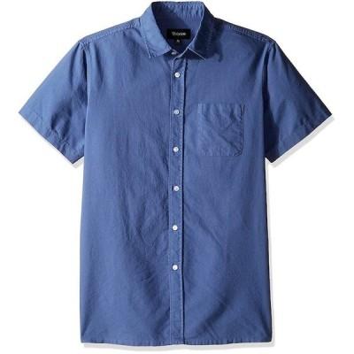 Brixton Alder S/S Woven Shirt Deep Blue XS シャツ 送料無料