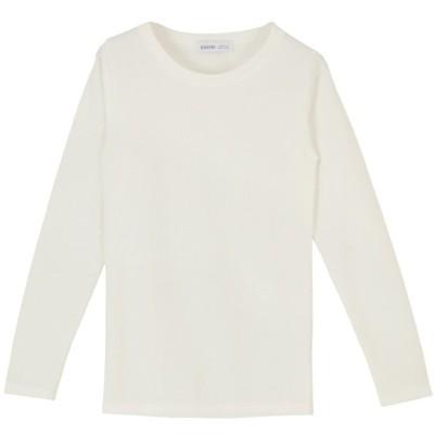 (miette/ミエット)ベーシッククルーネックロングTシャツ/レディース オフホワイト