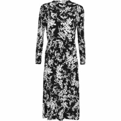 オアシス Oasis レディース ワンピース ミドル丈 ワンピース・ドレス Shadow Floral Midi Dress Multi Black