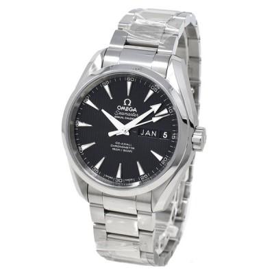 オメガ 腕時計 メンズ シーマスター アクアテラ 150M コーアクシャル OMEGA ブラック