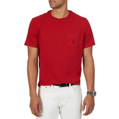 ナウティカ メンズ シャツ トップス Short Sleeve Anchor Pocket T- Shirt