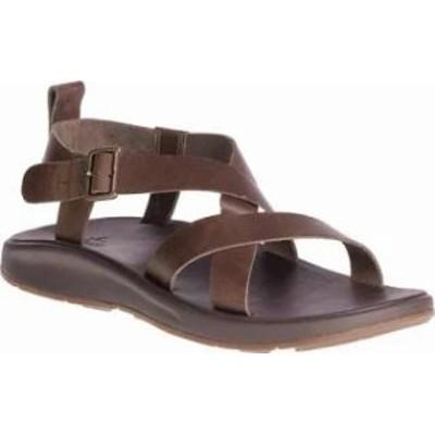 Chaco メンズサンダル Chaco Wayfarer Leather Sandal Otter Full Grain Lea