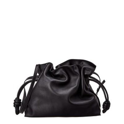 ロエベ レディース クラッチバッグ バッグ Loewe Flamenco Leather Clutch black leather
