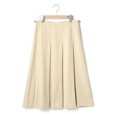 KEITH/キース ソフトサージ スカート オフホワイト 40