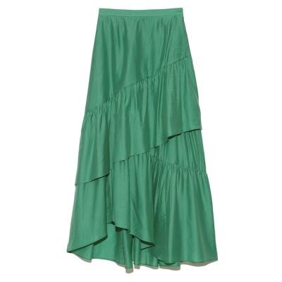 【リリーブラウン/LILY BROWN】 ティアードロングスカート
