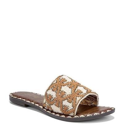 サムエデルマン レディース サンダル シューズ Gunner Beaded Canvas Slide Sandals
