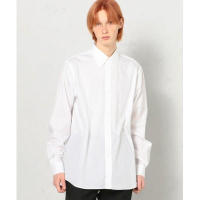 (EDITION/エディション)200/2 POPLIN コットン レギュラーカラーシャツ/メンズ 11ホワイト