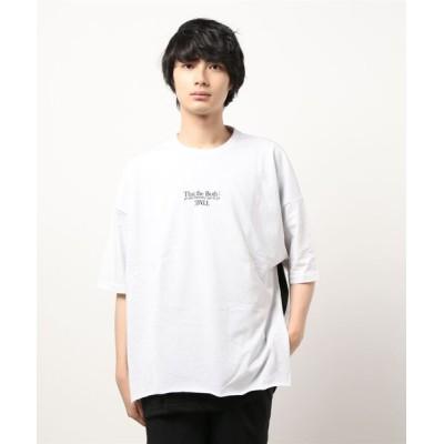 TAKA-Q / *セマンティックデザイン/semantic design 切替レイヤード クルーネック半袖BIGTシャツ MEN トップス > Tシャツ/カットソー