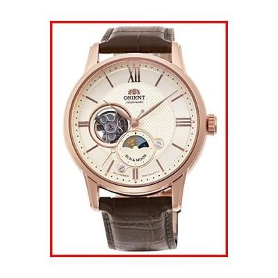 [オリエント時計] 腕時計 クラシック セミスケルトン SUN&MOON 機械式 RN-AS0002S メンズ