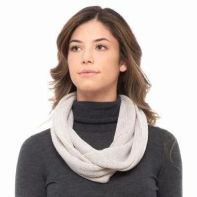 スマートウール マフラー・スカーフ・ストール Infinity Rib Scarf - Merino Wool Natural
