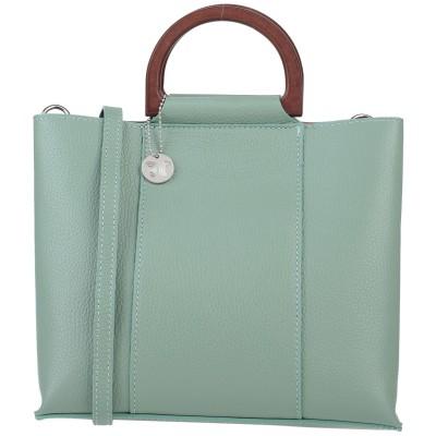 ローラ・ディ・マッジオ LAURA DI MAGGIO ハンドバッグ グリーン 革 ハンドバッグ