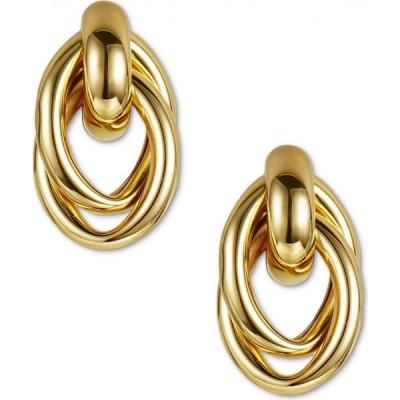 チャータークラブ Charter Club ユニセックス イヤリング・ピアス ジュエリー・アクセサリー Gold-Tone Entwined Circle Doorknocker Drop Earrings Gold