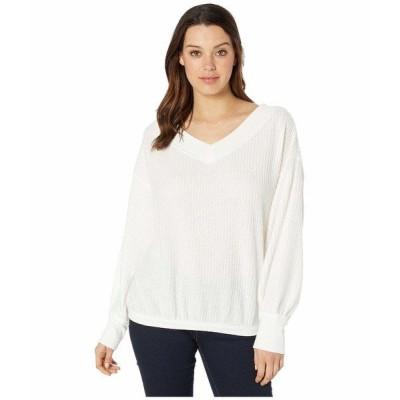 アメリカンローズ ニット&セーター アウター レディース Maria V-Neck Sweater Ivory