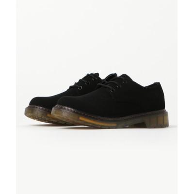 【サンエーフットウェア】 3ホール ブーツ バウンシングソール メンズ 靴 短靴 ギブソン 革靴 ラブハンター/1701 メンズ ブラックスエード 25.5cm相当 SFW