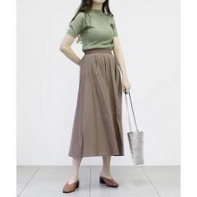 UNRELISHタックフレアギャザースカート【お取り寄せ商品】