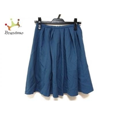 トゥモローランド TOMORROWLAND スカート サイズ34 S レディース ブルー     スペシャル特価 20200509