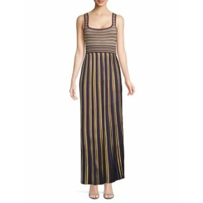 ロニーコボ レディース ワンピース Pleated Stripe Dress