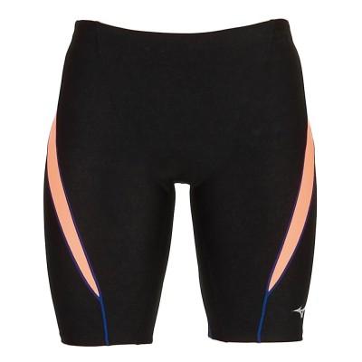 MIZUNOスイム・競泳水着 アクアフィットネス用ハーフスパッツ N2JB0101 95ブラック