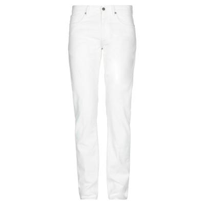インコテックス INCOTEX パンツ ホワイト 33 98% コットン 2% ポリウレタン パンツ
