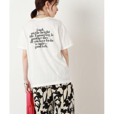 【ノーリーズ】 WEB限定 GOOD LUCK Tシャツ レディース オフホワイト F NOLLEY'S