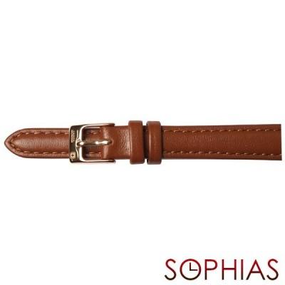 スイスミリタリー 純正 腕時計 替えベルト プリモ ブラウン レザー レディース ML423用 12mm幅
