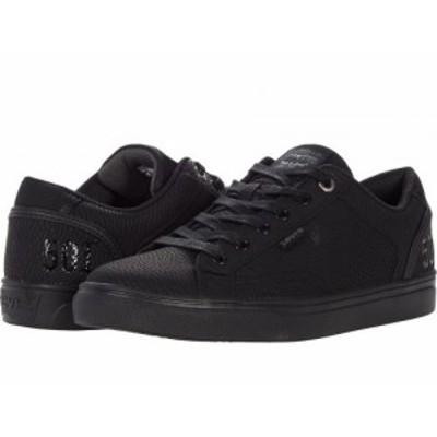 Levis(R) Shoes リーバイス メンズ 男性用 シューズ 靴 スニーカー 運動靴 Jeffrey 501 Waxed Nubuck Black Mono Chrome【送料無料】