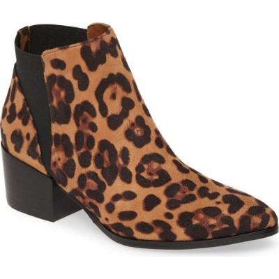 チャイニーズランドリー CHINESE LAUNDRY レディース ブーツ シューズ・靴 Finn Bootie Tan Leopard