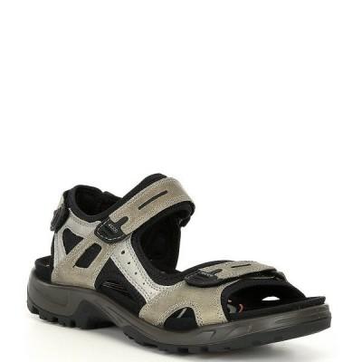エコー メンズ サンダル シューズ Men's Yucatan Sandals Vetiver