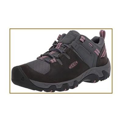 KEEN Women's Steens Vent Hiking Shoe, Black, 6.5【並行輸入品】
